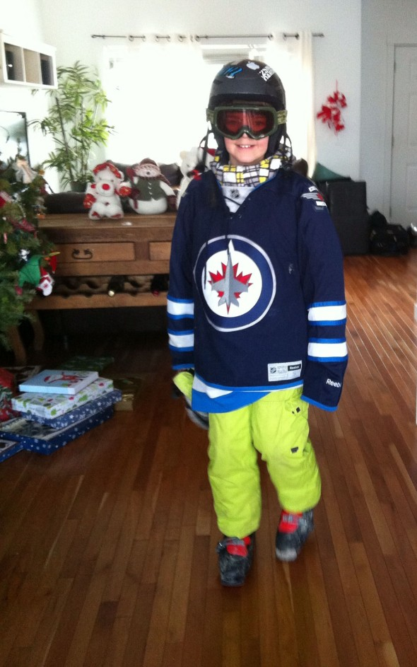 ashton in ski garb 2012