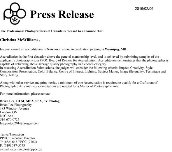 Press release 2 16